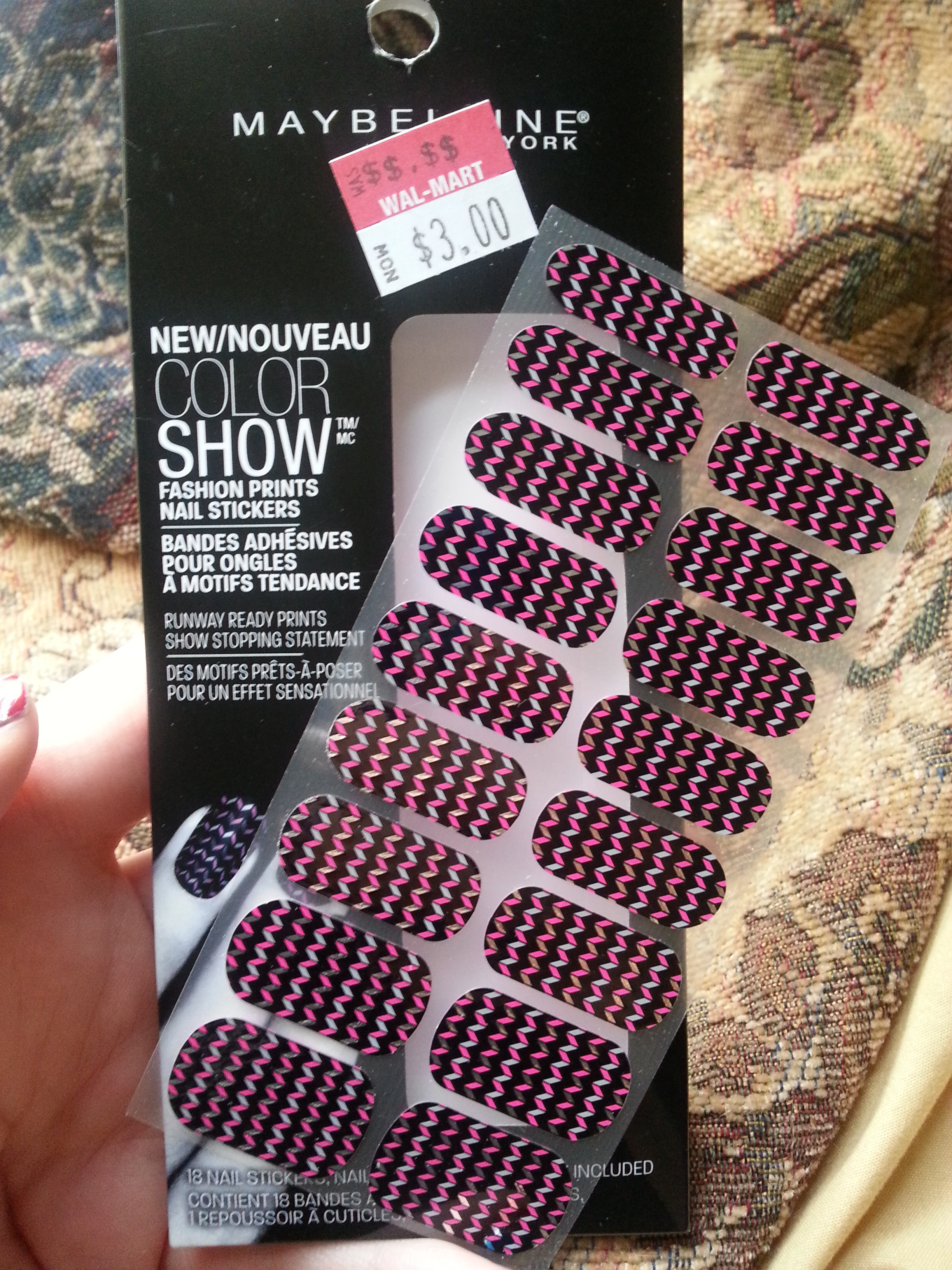 Maybelline ColorShow Nail Sticker Review | Nood Mood