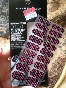colorshow nail sticker