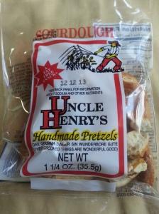 uncle henry's sourdough pretzels