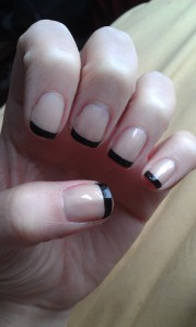 black french tip