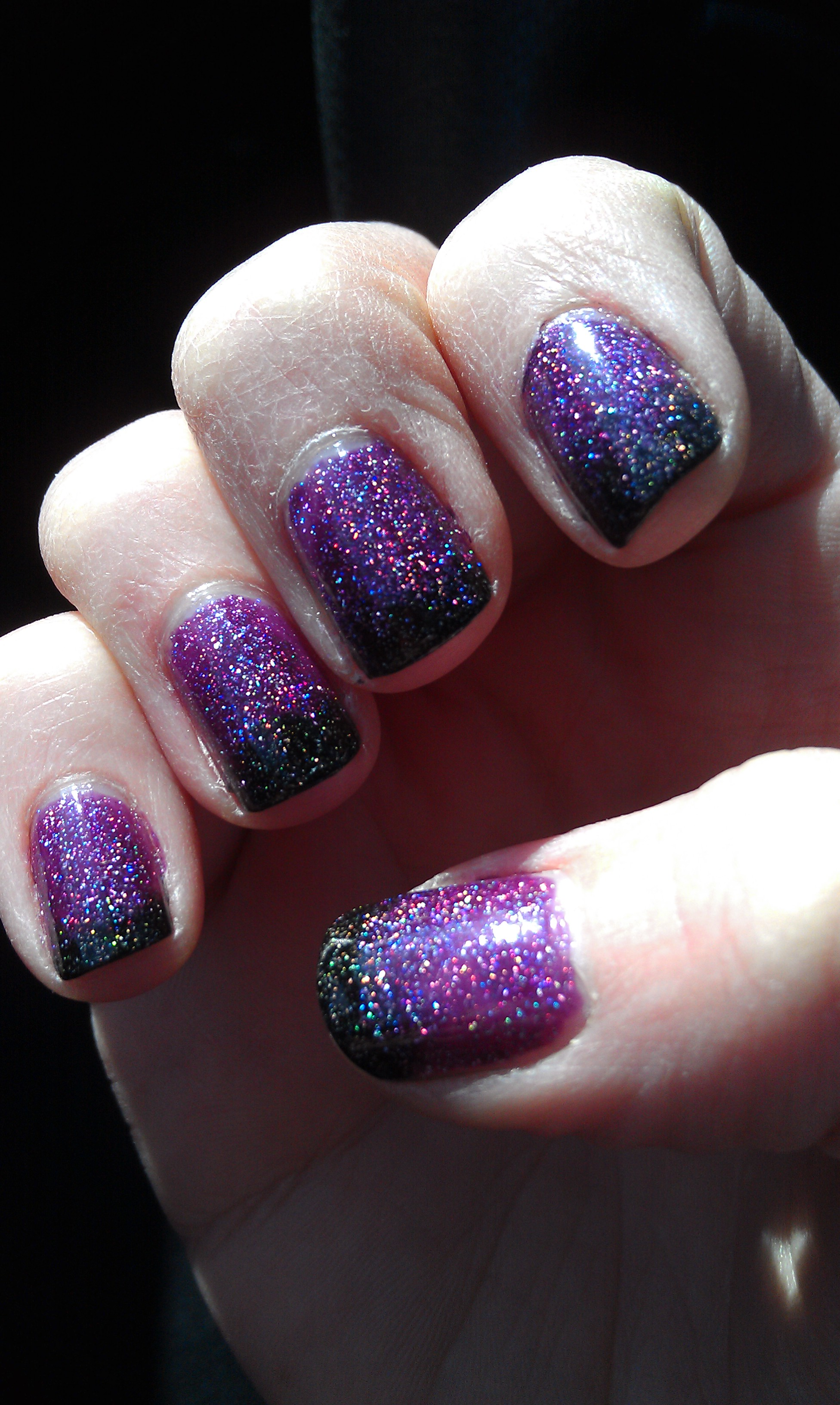 Faded French Tip Manicure Plus Polish Review: Zoya\'s Aurora and ...