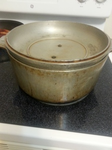 boiling corn
