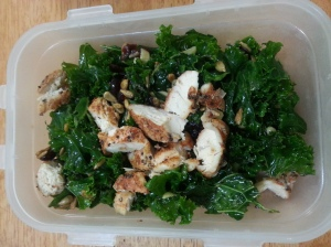 kale and cranberry salad