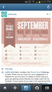 nail art challenge