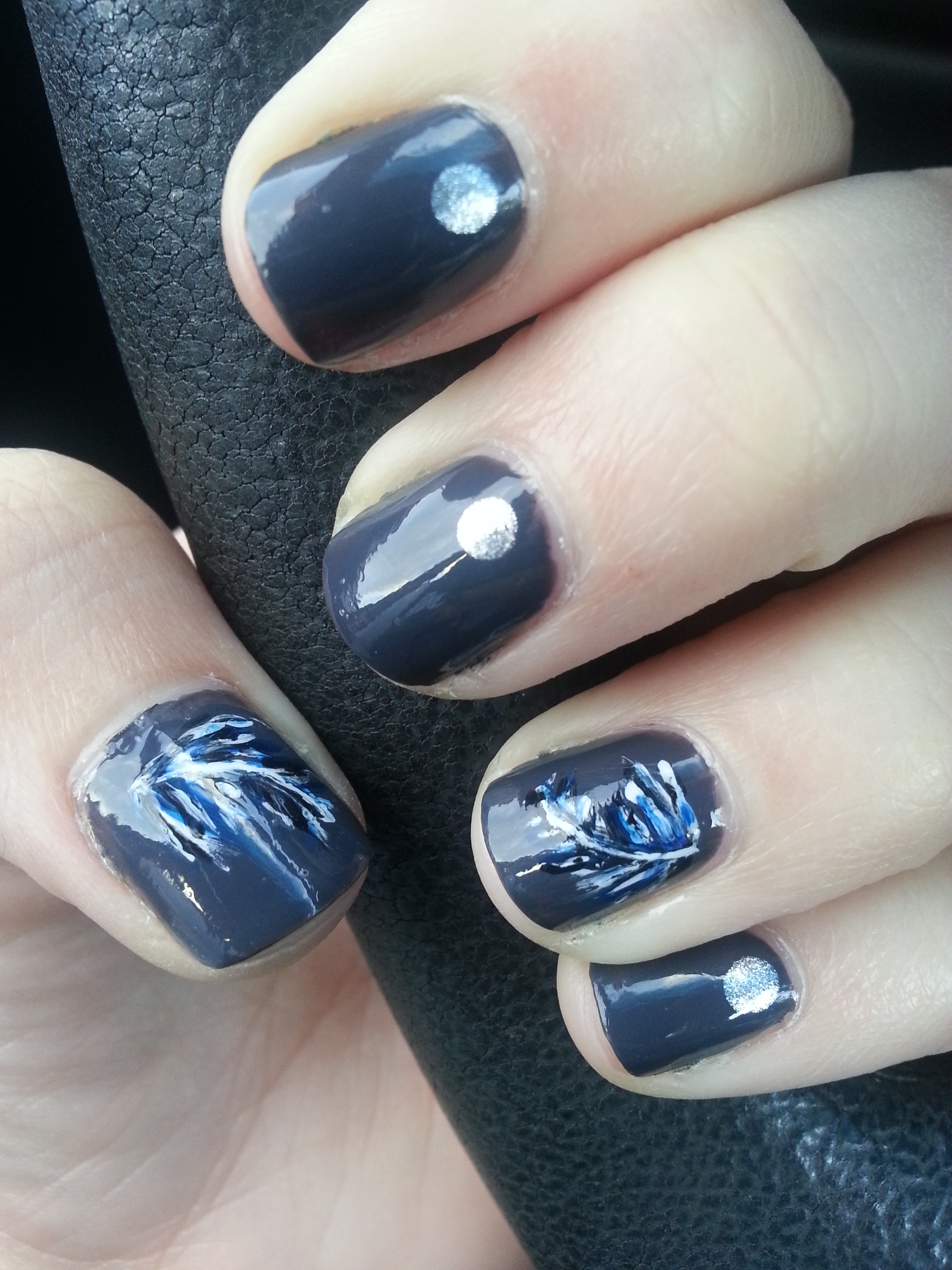 Nail Art Challenge September 19: Feathers | Nood Mood