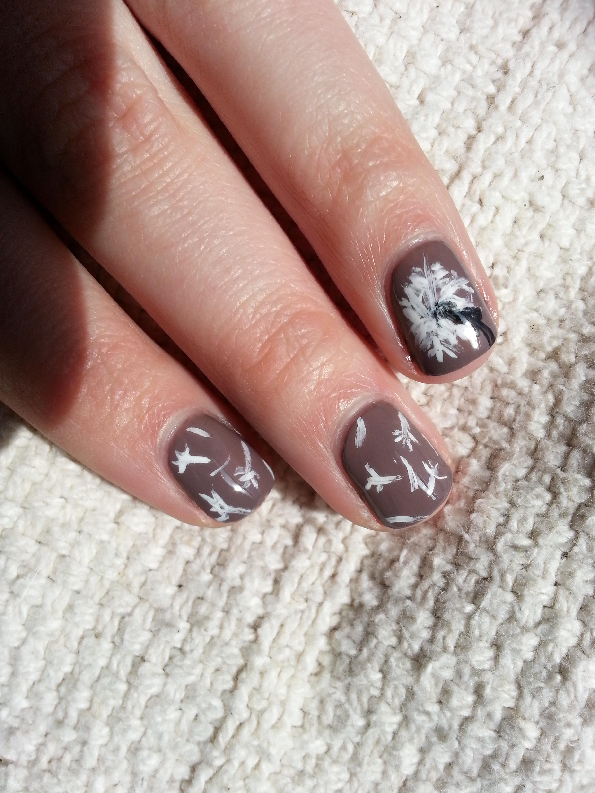 Nail Art Challenge September 22: Nature | Nood Mood
