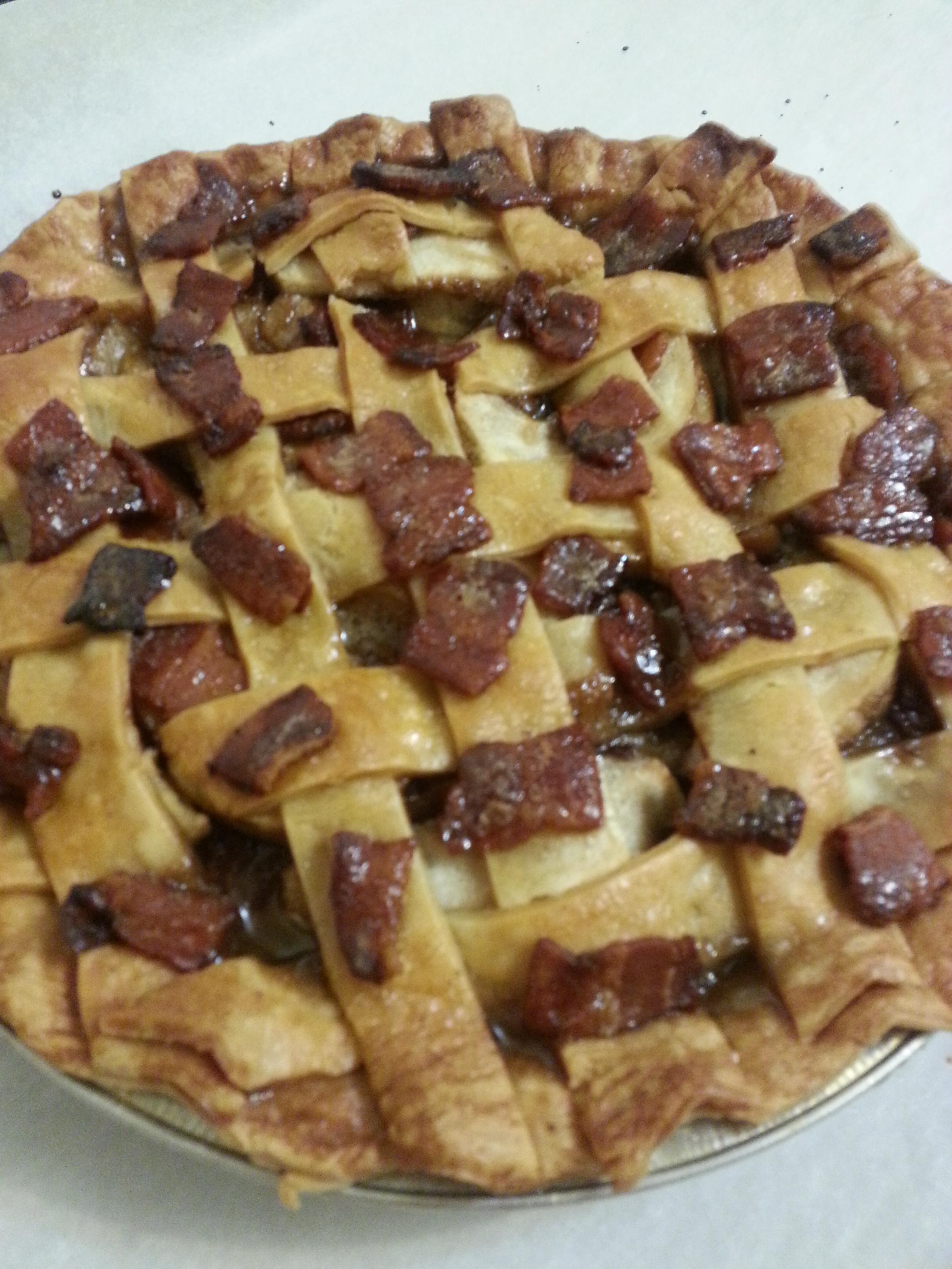 ... bacon caramel apple pie i m not a very big pie fan but this pie this